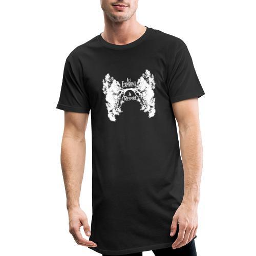 Oxygène blanc - T-shirt long Homme