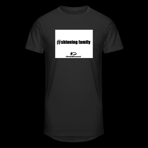 shinning family - T-shirt long Homme