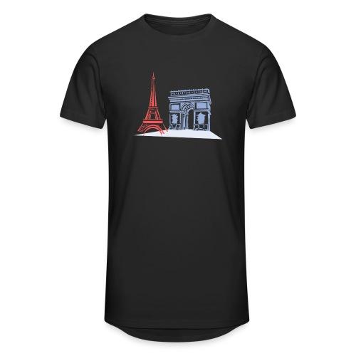 Paris - T-shirt long Homme