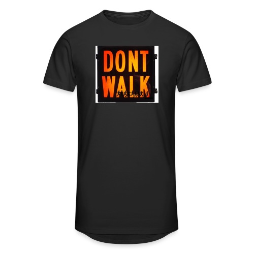 Don't Walk - Men's Long Body Urban Tee