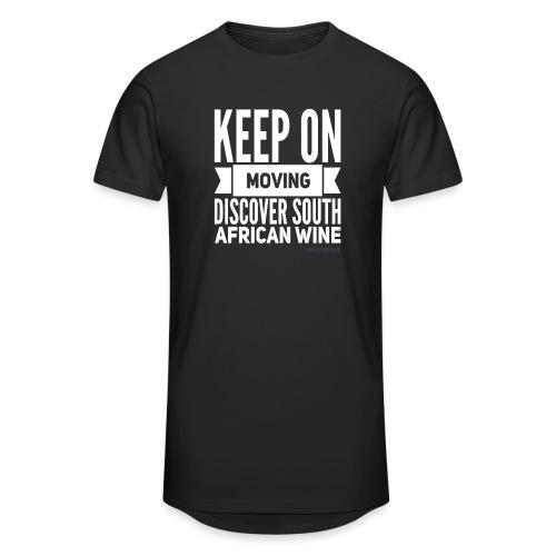 Keep on moving - Männer Urban Longshirt