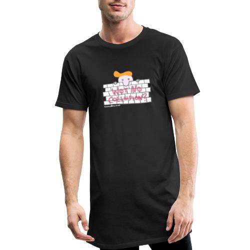 Trump's Wall - Men's Long Body Urban Tee