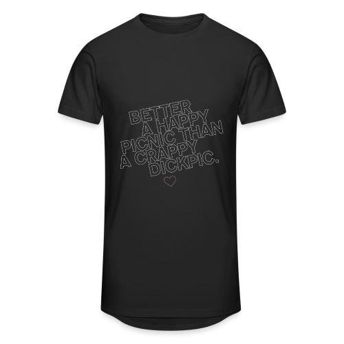 PICNIC vs DICKPIC - Männer Urban Longshirt