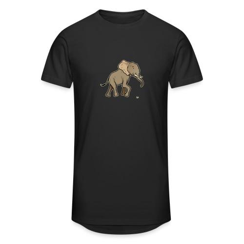African Elephant (black edition) - Männer Urban Longshirt