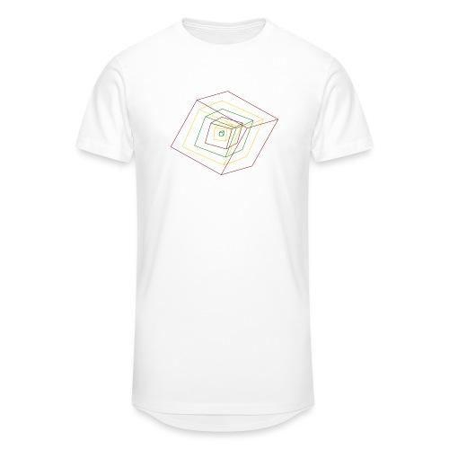 Rasta Cubes - T-shirt long Homme