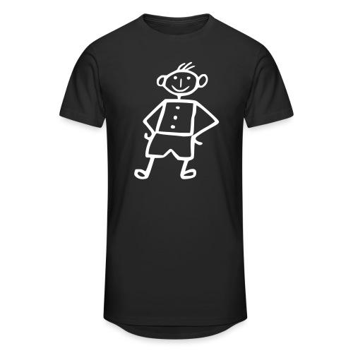 me-white - Männer Urban Longshirt