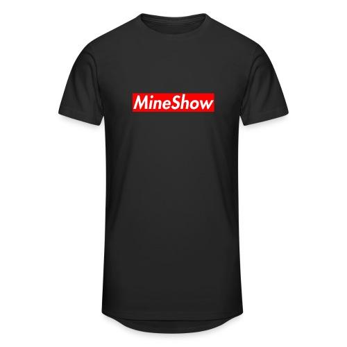 MineShow Box-Logo - Männer Urban Longshirt