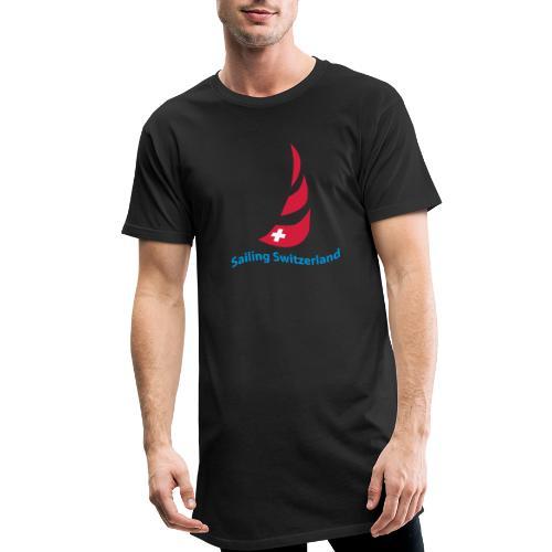 logo sailing switzerland - Männer Urban Longshirt