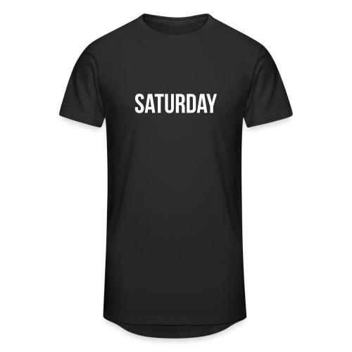 Saturday - Men's Long Body Urban Tee