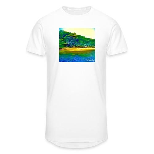 Tropical beach - Maglietta  Urban da uomo