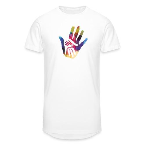 logo_storien - Urban lang T-skjorte for menn