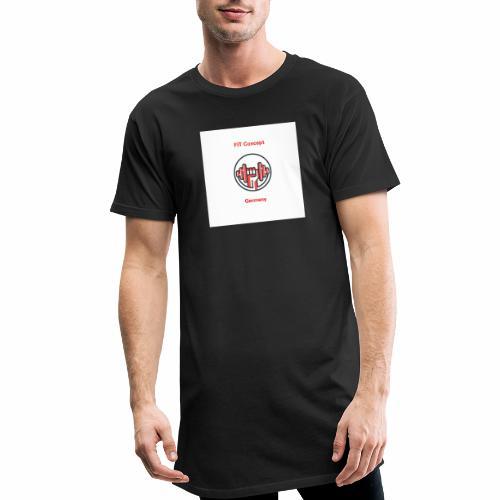 FIT Concept Germany Logo+Beschriftung - Männer Urban Longshirt