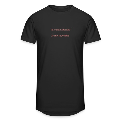 Tu es mon chocolat clair - T-shirt long Homme