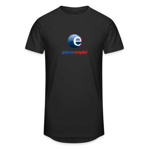 Povre emploi - T-shirt long Homme