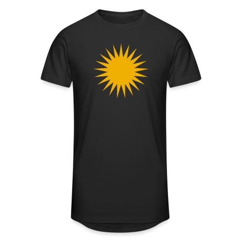 Kurdische Sonne Symbol - Männer Urban Longshirt