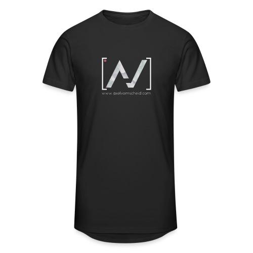 logoalpha blanc - T-shirt long Homme
