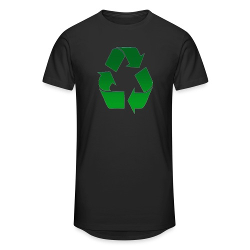 Recyclage - T-shirt long Homme