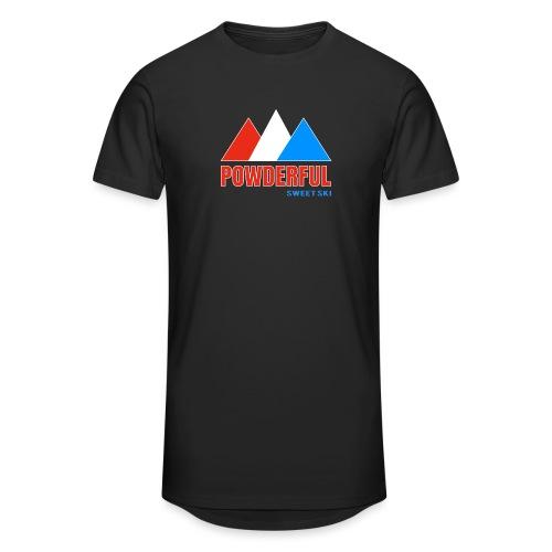 Powderful Sweet Ski - Männer Urban Longshirt