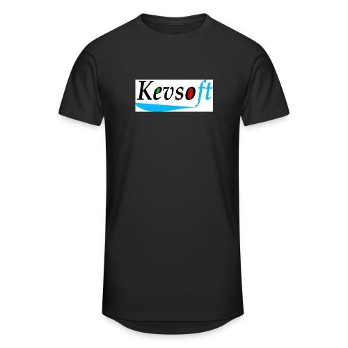 Kevsoft - Men's Long Body Urban Tee