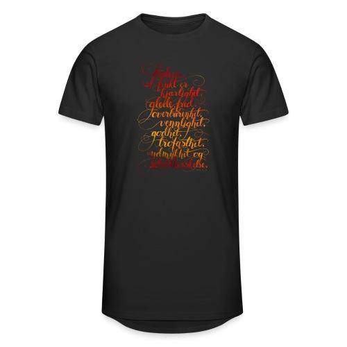 Åndens frukt - Urban lang T-skjorte for menn