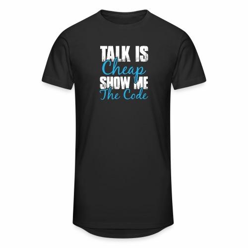 Talk is Cheap - Männer Urban Longshirt