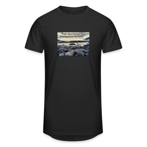 Oceanheart - Urban lang T-skjorte for menn