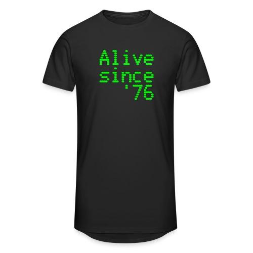 Alive since '76. 40th birthday shirt - Men's Long Body Urban Tee