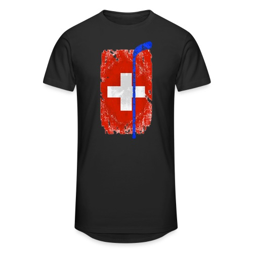 Schweizer Flagge Hockey - Männer Urban Longshirt