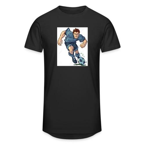 41982995-Vector-de-dibujos-animados-ilustraci-n-de - Camiseta urbana para hombre