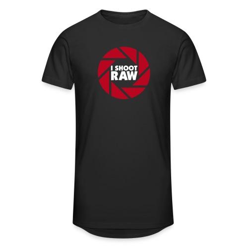 I shoot RAW - weiß - Männer Urban Longshirt