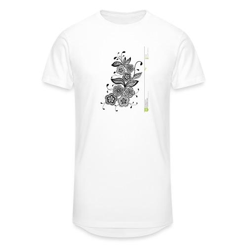 diseño de flores - Camiseta urbana para hombre