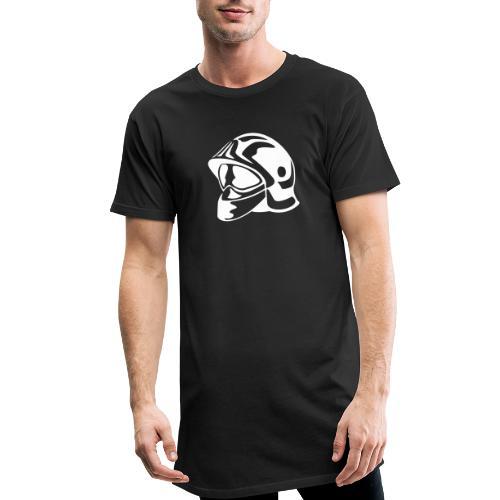casque_pompier - T-shirt long Homme