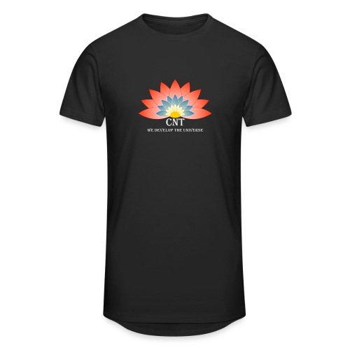 Support Renewable Energy with CNT to live green! - Men's Long Body Urban Tee