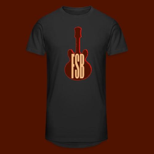 FSB Guitar Logo - Men's Long Body Urban Tee