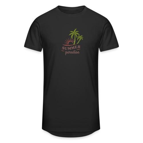Summer paradise - Men's Long Body Urban Tee