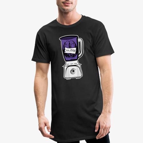 Hirn im Mixer_ lila - Männer Urban Longshirt