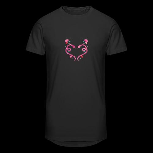 Coeur de serpents - T-shirt long Homme