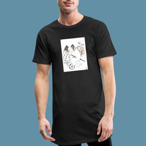 Samurai copia jpg - Maglietta  Urban da uomo