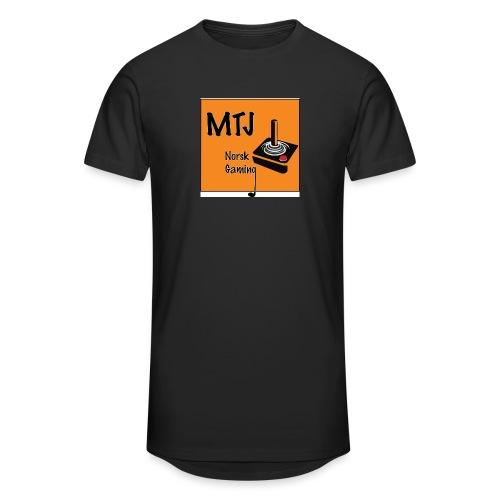 Mtj Logo - Urban lang T-skjorte for menn