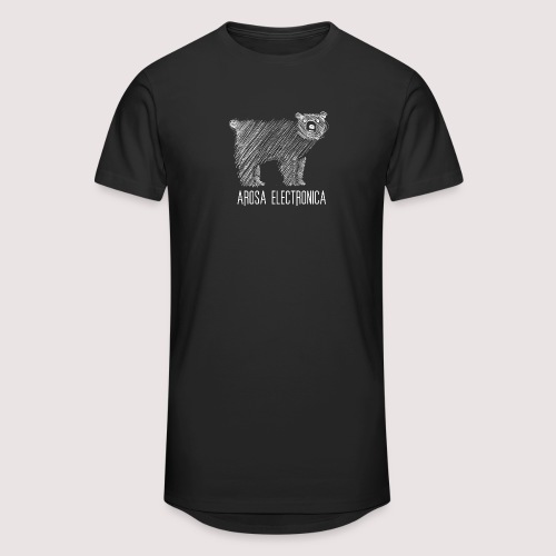 Bär Weiss - Männer Urban Longshirt