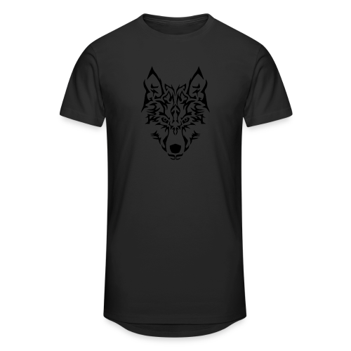 Tribal Wolf - T-shirt long Homme