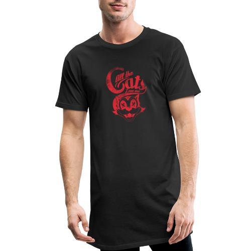 All the cats love me - Männer Urban Longshirt