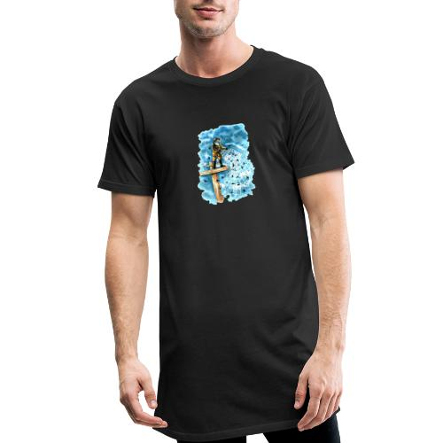 after the storm - Men's Long Body Urban Tee