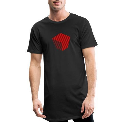 KUBUS Signature_rot - Männer Urban Longshirt
