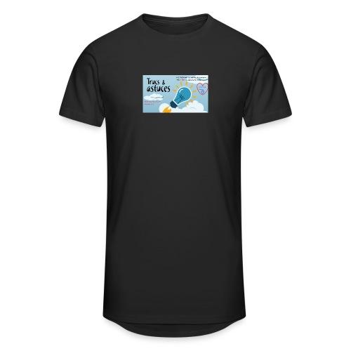 astuces mansour - T-shirt long Homme