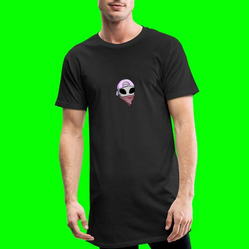 gangsta alien logo - Maglietta  Urban da uomo