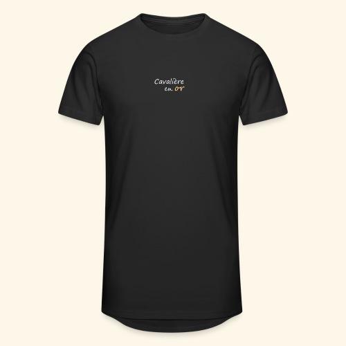 Cavalière en or - T-shirt long Homme