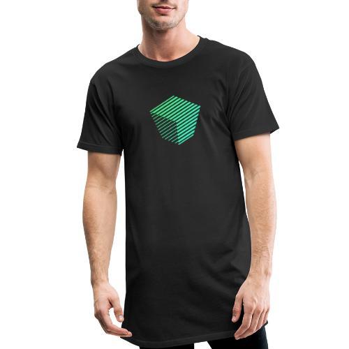 KUBUS Signature_greenfade - Männer Urban Longshirt