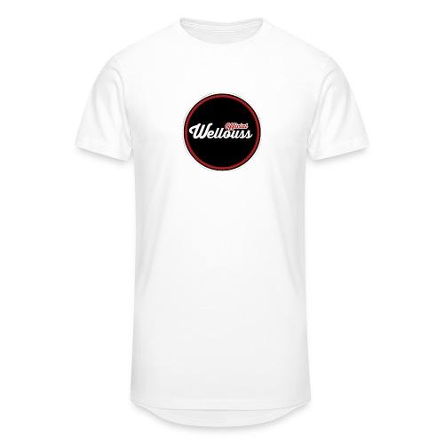 Wellouss Fan T-shirt | Rood - Mannen Urban longshirt
