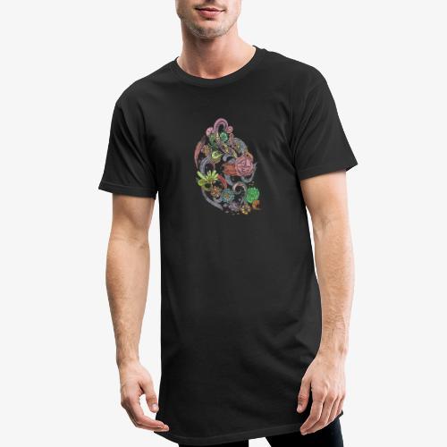Flower Power - Rough - Urban lång T-shirt herr